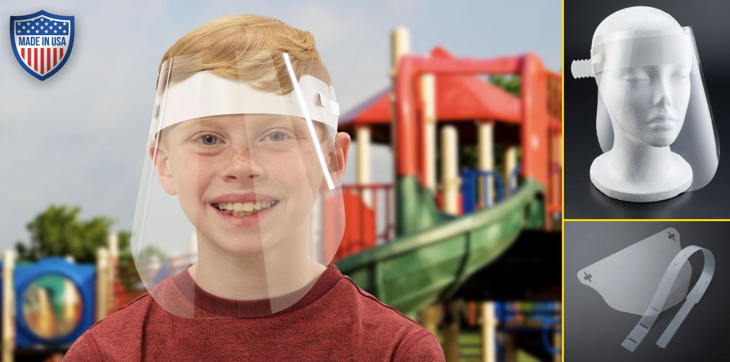 Kids PPE Face Shields