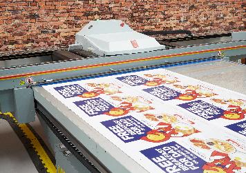 Wide Format Print Brochure
